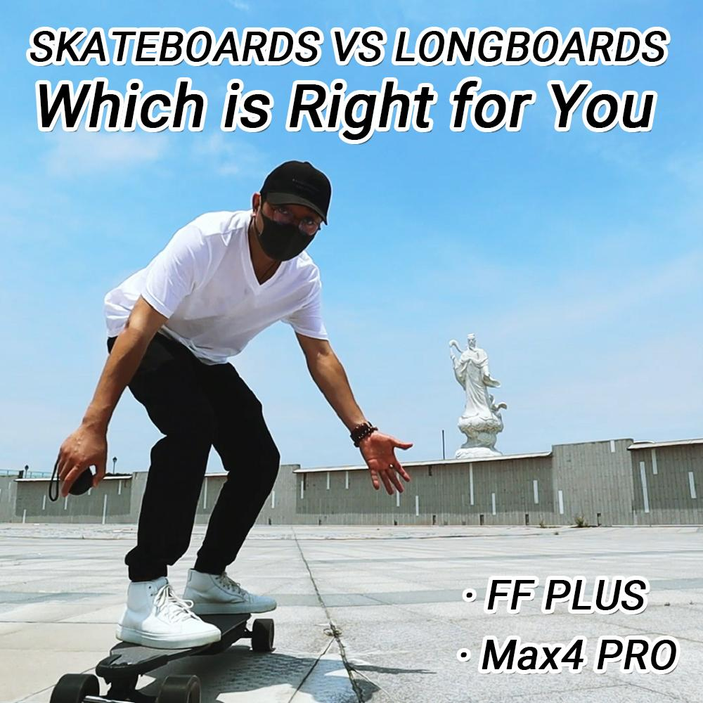 Skateboards vs Longboards - Which is Right for You