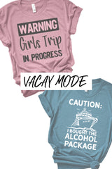 Vacation / Travel Shirts