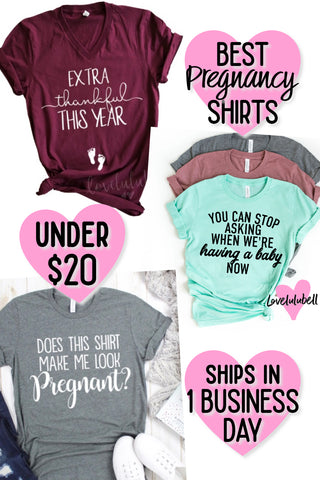 pregnancy shirts for under $20