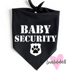 Baby Security | Dog Bandana