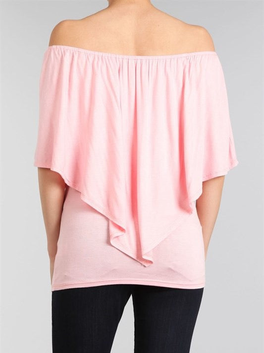 Pink Flowy Date Night Top