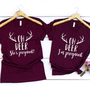 Oh Deer I'm Pregnant / She's Pregnant