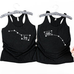 Big and Little Dipper Constellation Tank Tops