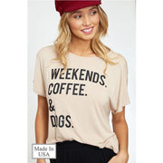 Weekends. Coffee. & Dogs.