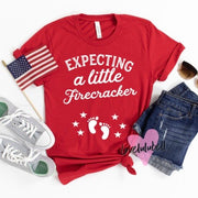 Expecting a Little Firecracker | Unisex Crewneck