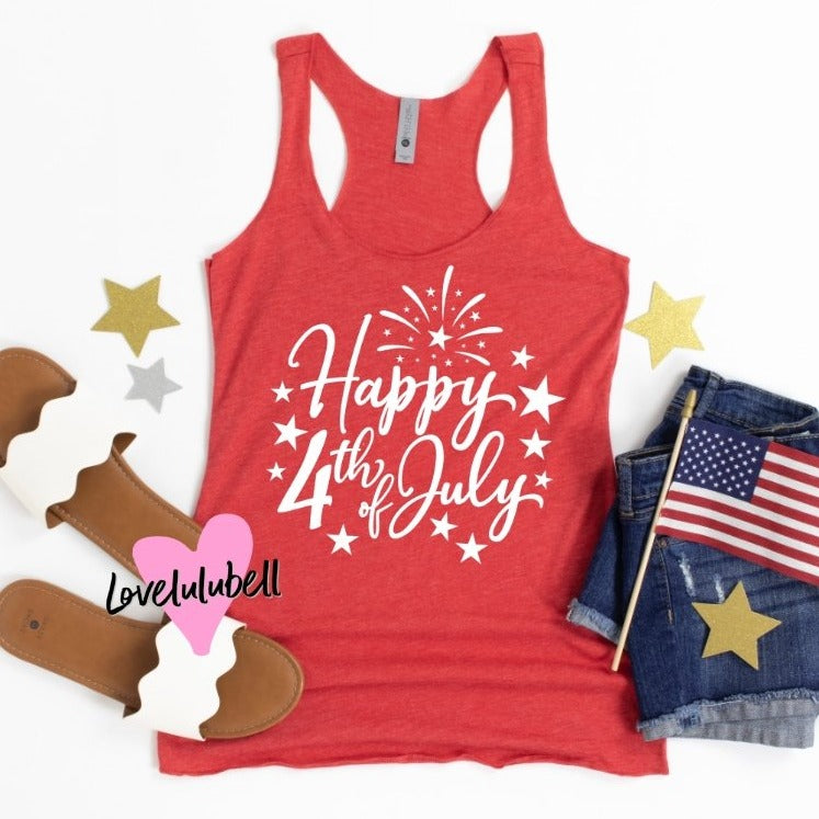 Happy Fourth of July | Tank Top