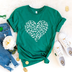 Leopard Heart - St. Patty's Day