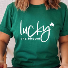 Lucky and Blessed - St. Patty's Day