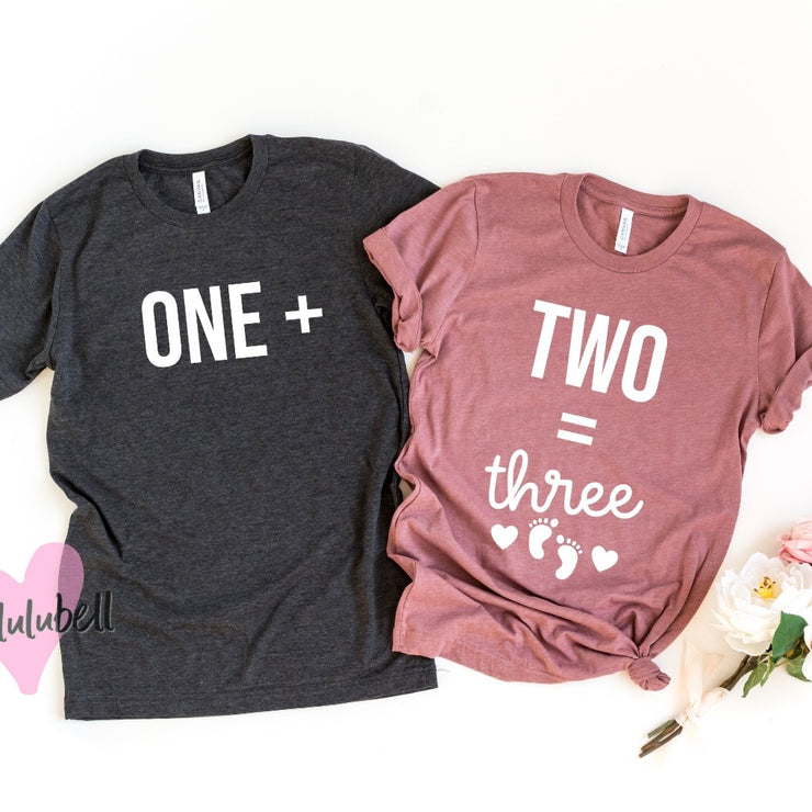 One + Two = Three