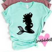Mermaid Mommy to Be