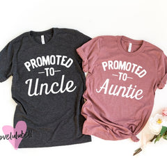 Promoted to Auntie | Promoted to Uncle