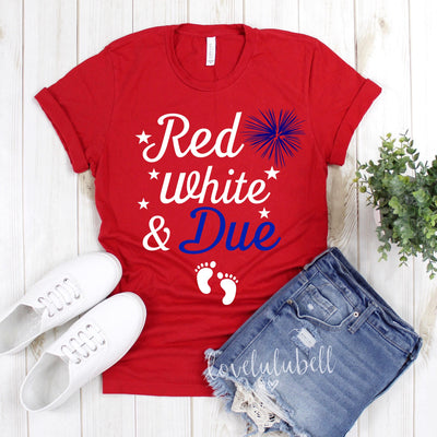 Red, White and Due