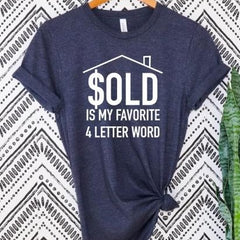SOLD is my favorite 4 letter word