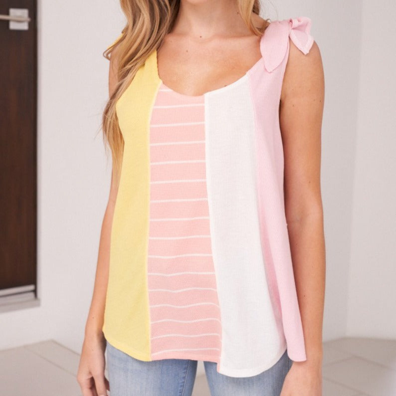 Gorgeous Multi Color Tank Top