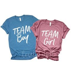 Team Boy and Team Girl