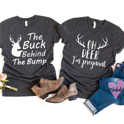 Oh Deer I'm Pregnant / The Buck Behind The Bump