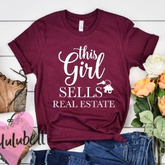 This Girls Sells Real Estate