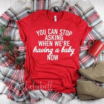 You can stop asking when we're having a baby now™ | Christmas Version