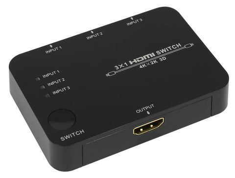 3 PORT HDMI V1.4 AV SWITCH BOX