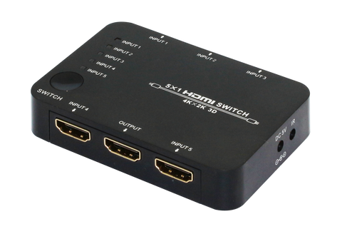 5 PORT HDMI V1.4 AV SWITCH