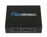 2 WAY HDMI AV SPLITTER WITH HDCP STRIPPER CONVERTER