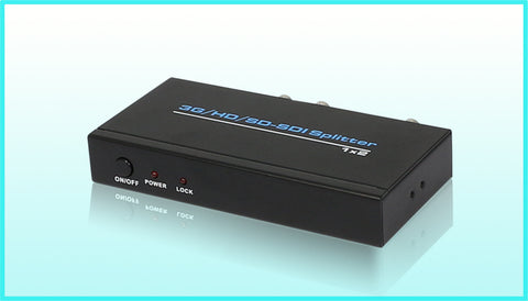 3G SDI 2 WAY SPLITTER