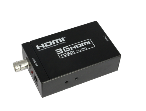 HDMI TO 3G SDI CONVERTER TRANSMITTER AND RECEIVER KIT