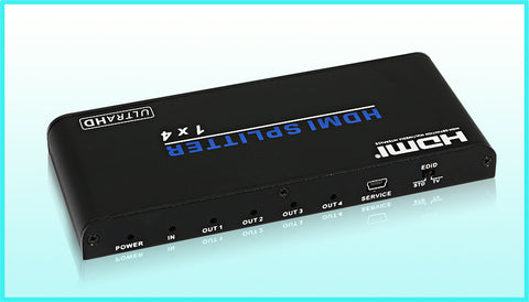 4 WAY HDMI V2.0 SPLITTER