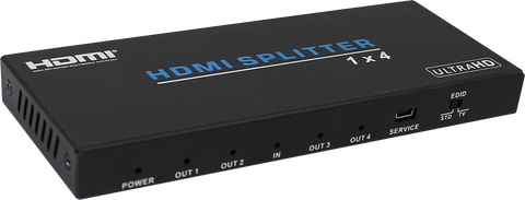 4 WAY HDMI 2.0 18GBPS UHD SPLITTER