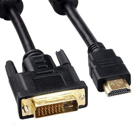 1.8M HDMI TO DVI-D CABLE