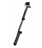 3 WAY EXTENDABLE SELFIE STICK / TELESCOPIC MONOPOD TO SUIT GO PRO HERO 4, 3 AND ACTION CAMERAS