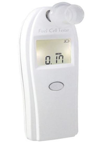 FUEL CELL ALCOHOL BREATH TESTER WITH LCD DISPLAY