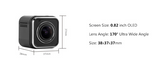 1440P HD MINI CUBE ACTION SPORTS CAMERA WITH WATERPROOF CASE AND BRACKET