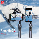 3 AXIS HANDHELD ELECTRONIC GIMBAL STABILIZER FOR SMARTPHONES WITH APP ZHIYUN SMOOTH Q
