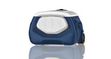 28L PORTABLE BLUESKY COOLER WITH BLUETOOTH SPEAKER AND ADJUSTABLE HANDLE AND WHEELS