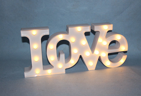 LOVE LED MARQUEE LIGHT