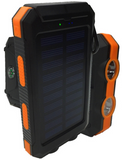 10,000MAH SOLAR POWER BANK WITH 2 X LED TORCH