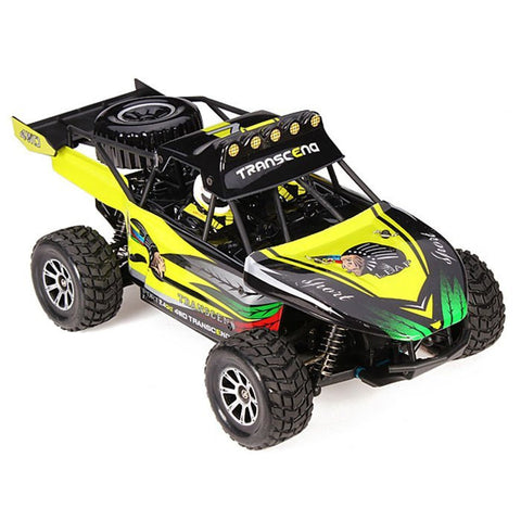 RC 4WD DESERT TRUCK 1:18TH 2.4GHZ DIGITAL PROPORTIONAL WL TOYS