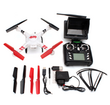 "RC DRONE WITH FPV 4.3"" LCD DISPLAY 4 CHANNEL 2.4GHZ QUADCOPTER"