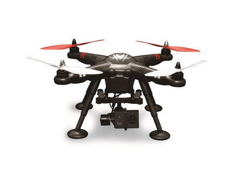 RC GPS DRONE WITH 2-AXIS GIMBAL MOUNT AND 1080P ACTION CAMERA XK DETECT X380 QUADCOPTER
