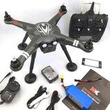 RC GPS QUADCOPTER DRONE WITH 2-AXIS GIMBAL MOUNT AND 1080P ACTION CAMERA XK DETECT X380 QUADCOPTER