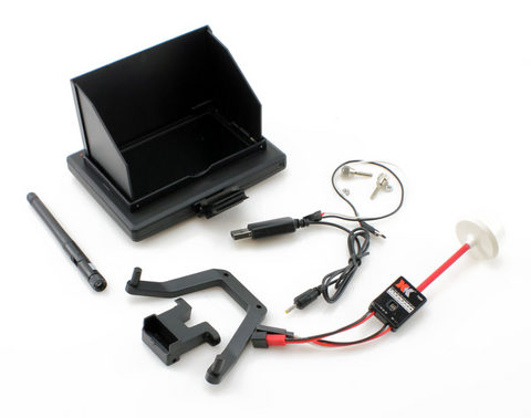 "4.3"" LCD FPV TRANSMITTER AND RECEIVER KIT"