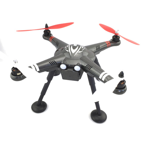 RC GPS QUADCOPTER X380 DRONE WITH FPV SYSTEM, 2-AXIS GIMBAL MOUNT AND 1080P ACTION CAMERA
