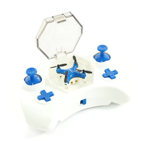 RC MICRO DRONE WITH PROTECTIVE COMPARTMENT