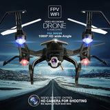 RC WI-FI FPV DRONE WITH 5MP 1080P HD CAMERA RECORDER 668-R8