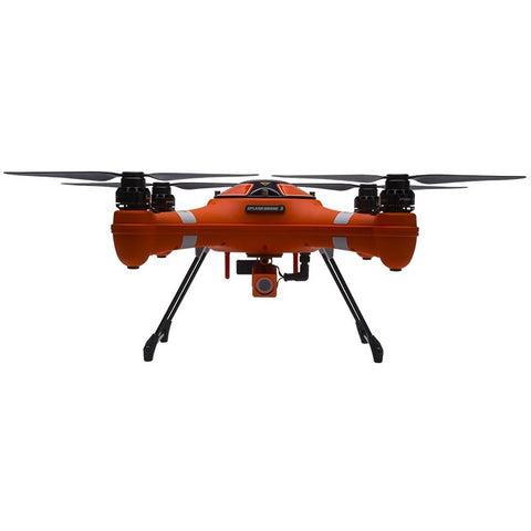 WATERPROOF GPS FPV FISHING DRONE WITH HD CAMERA AND PAYLOAD RELEASE - SPLASH DRONE 3 FISHERMAN