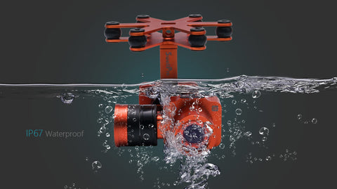 SWELLPRO WATERPROOF 4K CAMERA WITH 2 AXIS GIMBAL