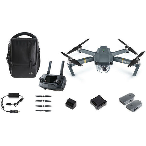 DJI MAVIC PRO FPV DRONE FLY MORE COMBO WITH 4K CAMERA AND LCD CONTROLLER