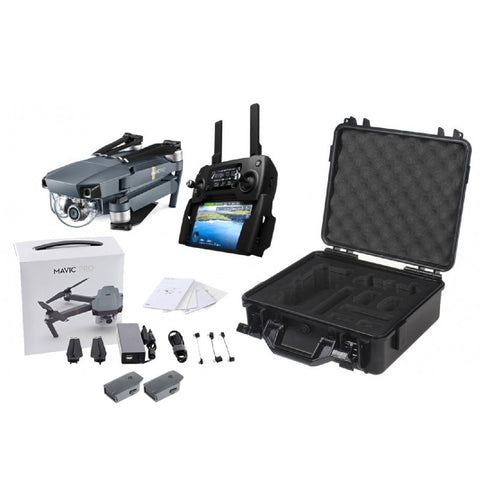 DJI MAVIC PRO FPV DRONE ESSENTIALS COMBO WITH 4K CAMERA AND LCD CONTROLLER