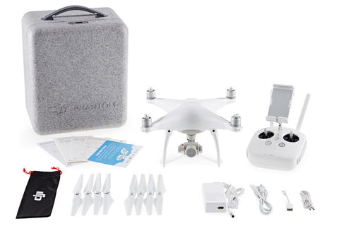 DJI PHANTOM 4 FPV DRONE WITH 4K CAMERA AND CONTROLLER